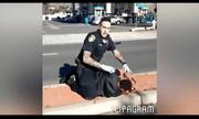 Video cảnh sát Mỹ truy đuổi nghi phạm gây sốt