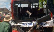 Vụ xe chở học sinh đâm xe tải qua lời kể của nhân chứng