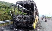 Xe khách bốc cháy trong đêm, 40 hành khách hoảng loạn kêu cứu