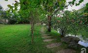 Nhà vườn xanh mát bóng cây, hoa nở đẹp cách Hà Nội 45 phút chạy xe