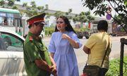 Diễn viên Ngọc Lan lớn tiếng với CSGT vì bị yêu cầu dừng xe