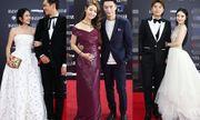 Các cặp đôi đình đám showbiz Hoa ngữ thi nhau tình tứ trên thảm đỏ
