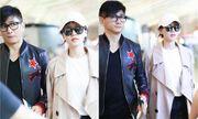 Lưu Thi Thi tóc ngắn lạ lẫm, được Ngô Kỳ Long hộ tống đi dự Milan Fashion Week
