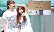 Hé lộ thiệp cưới chính thức của Khởi My - Kelvin Khánh