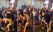 Điều tra vụ cô gái bị giật tung áo trên phố Hàng Mã đêm Trung thu