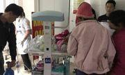 Gia đình có trẻ sinh non tại BV Sản Nhi Bắc Ninh