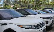 Hàng chục ô tô chuyên dụng nhập khẩu về cảng không có người nhận