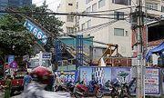 Hiện trường vụ sập cần cẩu vào nhà dân tại Đà Nẵng