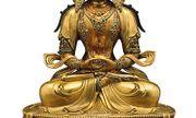 Tượng Phật dát vàng, bát cổ được đấu giá tại New York.