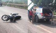 Xác định danh tính lái xe tông chiến sĩ CSGT tử vong trên cao tốc