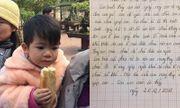 """Bỏ rơi con gái 2 tuổi ở cửa chùa, người mẹ viết thư """"mong thầy đừng cho cháu đi nơi khác"""""""