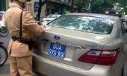 Hà Nội: 91 xe biển xanh, biển đỏ bị phạt nguội