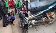 Bà bầu khóc nức nở vì bị tài xế Grabbike bắt đền 700 nghìn đồng