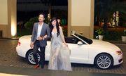 Đoàn Thanh Tài tháp tùng ca sĩ hải ngoại Kavie Trần đi làm MC bằng xe tiền tỉ