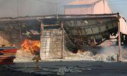 Cháy lớn tại khu công nghiệp Biên Hòa 2, hàng nghìn m2 nhà xưởng bị thiêu rụi