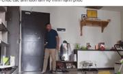 Bị vợ mắng vì lười, chồng trẻ ra tay dọn nhà 3 tiếng rồi quay lại video làm 'bằng chứng thép'