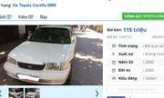 Giật mình với giá siêu rẻ của những chiếc Toyota cũ đang rao bán