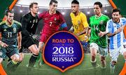 Danh sách cầu thủ 32 đội tuyển tham dự World Cup 2018: Liệu có