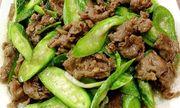 Cách nấu thịt bò xào lặc lày thơm ngon cho bữa tối đầu tuần vui vẻ
