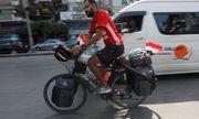Chàng trai Ai Cập 24 tuổi dũng cảm đạp xe 5000km để tới Nga xem World Cup