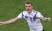 Toni Kroos ghi bàn, Đức thắng nghẹt thở Thụy Điển