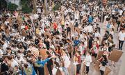 Hà Nội 40 độ không nóng bằng kỳ thi năng khiếu tại trường Kiến Trúc