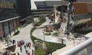 Video: Trung tâm thương mại mới khai trương đổ sập tan tành trong chớp mắt