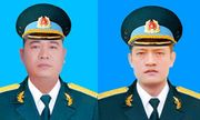 """Cấp Bằng """"Tổ quốc ghi công"""" cho 2 phi công hy sinh trong vụ máy bay Su-22 rơi"""