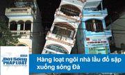 Video: Chết lặng trước cảnh 9 ngôi nhà đổ sập xuống sông Đà