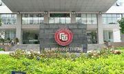 Công bố điểm chuẩn trường Đại học Ngoại Thương năm 2018, cao nhất 24,25