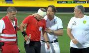 Trọng tài biên cúp Europa League bị CĐV ném vỡ đầu