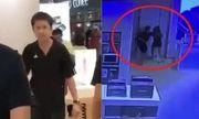Video: Nữ nhân viên bị đấm thẳng mặt vì từ chối đổi iPhone X