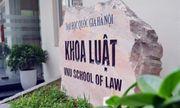 Giảng viên Luật bị