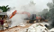Lào Cai: Điều tra nguyên nhân, khắc phục sự cố vỡ đập nước thải