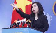 Việt Nam đề nghị các nước tôn trọng pháp luật trên các vùng biển và đại dương