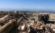 Quân đội Syria nã hỏa lực dồn dập vào khủng bố ở Latakia