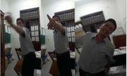 Trưởng phòng ném ghế vào nữ đồng nghiệp nhận quyết định kỷ luật