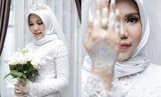 Vị hôn phu tử nạn trong vụ rơi máy bay Lion Air, cô gái làm đám cưới một mình