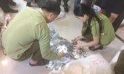 Hà Nội: Tịch thu hàng nghìn gói mỹ phẩm không rõ nguồn gốc