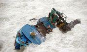 Chìm ghe trên biển Cần Giờ, 5 ngư dân may mắn thoát nạn