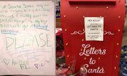Bé gái viết thư xin ông già Noel cho anh trai được sống khiến hàng triệu người rơi lệ