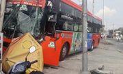 Tin tai nạn giao thông mới nhất ngày 20/12/2018: Xe khách Phương Trang nát bươm sau cú tông kinh hoàng