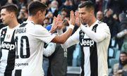 Thần may mắn giúp Juventus thắng Sampdoria, lập kỳ tích vô tiền khoáng hậu ở lượt đi Serie A