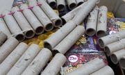 Nghệ An: Thu giữ hơn 50 kg pháo lậu các loại đang trên đường vận chuyển