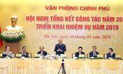 Thủ tướng: Văn phòng Chính phủ phải giúp phản ánh một 'Chính phủ bắt kịp nhịp sống của người' dân