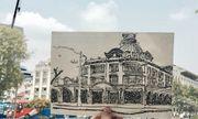 Lưu giữ tình yêu thành phố bằng ký họa từ trái tim