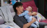 Ngô Kỳ Long học chăm sóc em bé để đón con đầu lòng với Lưu Thi Thi