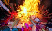 Tuyên truyền giảm đốt vàng mã dịp lễ tết: Liệu có giảm?