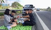 Xác minh danh tính gia đình mở tiệc trên cao tốc Nội Bài- Lào Cai vào mùng 2 Tết