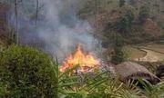 Mâu thuẫn gia đình, chồng đốt nhà bố vợ rồi nhảy vào đám cháy tự tử